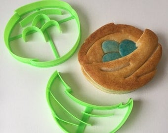 Bird's Nest Cookie Cutter Set