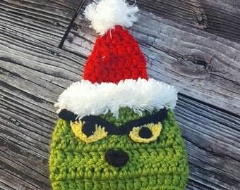 Grinch Hat Etsy