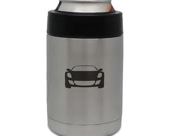 Ferrari Stainless Steel Beverage Cooler, Beer Cooler, Beer Hugger, Drink Sleeve