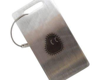 Amoeba Stainless Steel Luggage Tag
