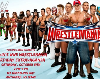 WWE Invitation