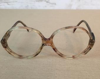 Gloria Vanderbilt Vintage Women's Zyloware Eyeglasses Frames Only No Lens