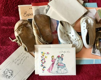 Vintage baby and maternity items