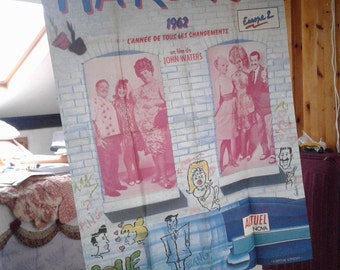 Hairspray Divine Large French Cinema Poster