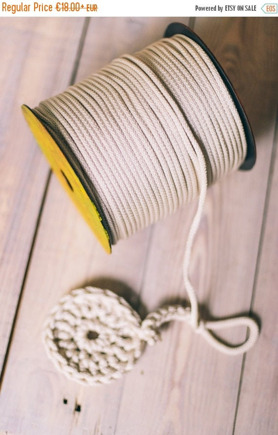 SILVER yarn, diy crafts, craft supplies, diy projects, chunky yarn, colored rope,rope yarn, polyester cord, rope cord, crochet cord. #45
