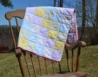Pastel Baby Quilt