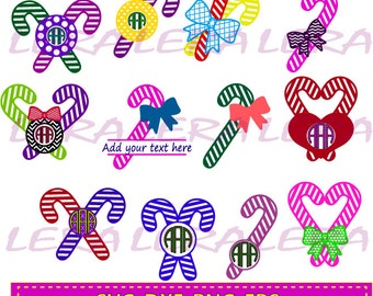 60 % OFF, Christmas Candy Canes Monogram Svg, Christmas Candy Canes Monogram Frame, Christmas Candy Cane Cut File, Svg, Eps,Ai, Dxf