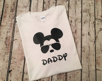 Daddy Mickey Mouse Shirt