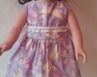 dragonfly print sleeveless dress