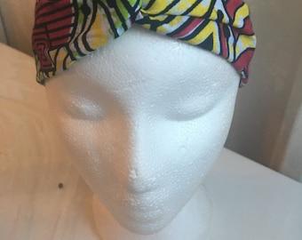 Wax child turban style headband