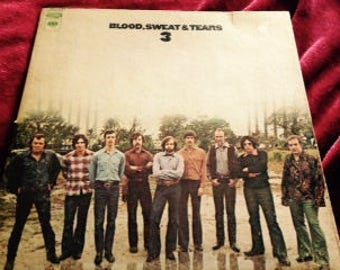 Vintage Vinyl: Blood, Sweat & Tears