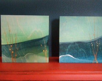 See and hear the Sea (diptych)