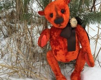 Artist teddy bear.