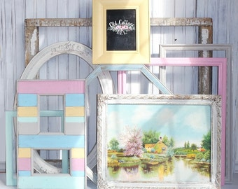 Shabby Chic Frames - Instant Gallery Wall