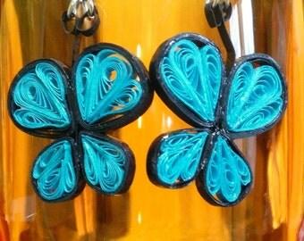 Quilled Earrangs - Butterflies