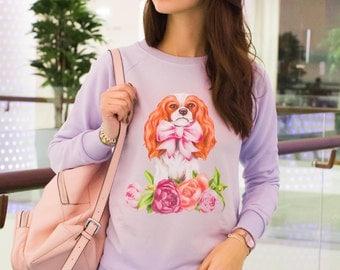 "Sweatshirt ""Sweet Blenheim"""
