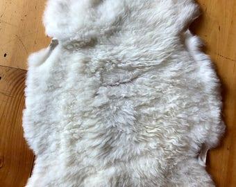 Shetland Sheepskin, white