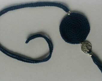 Pendant of crochet