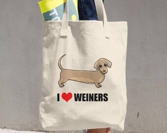 I Love Weiners - Tote Bag