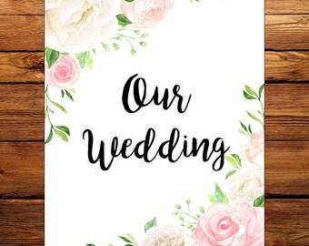 Lauren Wedding Planner Printable Floral