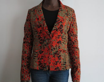 Wax tailor collar jacket size M