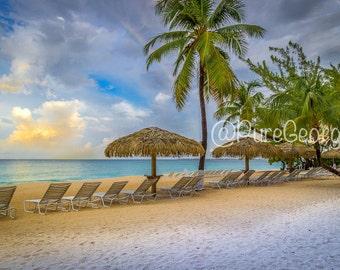 Sunrise at the beach, Cayman Islands, Seven Mile Beach, Wall Art, Nature Photography, Prints, Home Decor, Fine Art, Digital Images