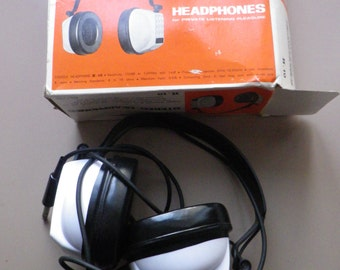 vintage / retro ADASTRA HEADPHONES H.10 / newer been used