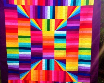 Solids Sunshine Quilt (for Jenny)