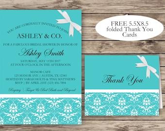 Tiffany blue bridal shower Etsy