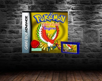 Pokemon Shiny Gold Sigma - Show off your very best in this revolutionary Pokemon title - GBA