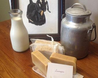 Lemongrass Essential Oil Goat Milk Soap