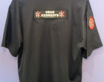 Dead Kennedys Men's Button-Down Shirt Size M