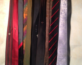1960s Mens Ties, Neckties, Vintage and Retro, 1960s to 1990s collection.