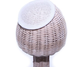 Buckram Round Crown - Small - Hat Making Supplies
