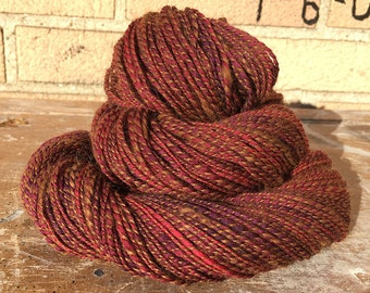 Handspun Yarn - Alpaca & Wool - 225 Yards