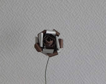 Eternal rose in light brown Pearly nespresso capsules