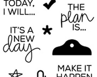 Planner Stamps - Goals - Technique Tuesday