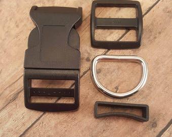 "20 - 1"" Adjustable Pet collar kit"