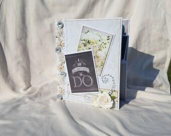 Wedding album, wedding mini album, wedding photo album, wedding scrapbook, wedding scrapbook album, memory album, wedding book, bridal gift