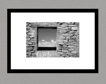 Fine art Print, Aruba, photographic print, seascape photography, wall art, landscape photography, black and white photography, landscape