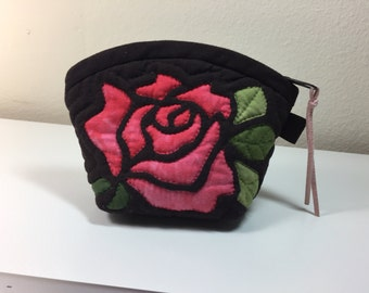 rose small pouch