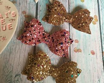 Confetti Sparkle Bows
