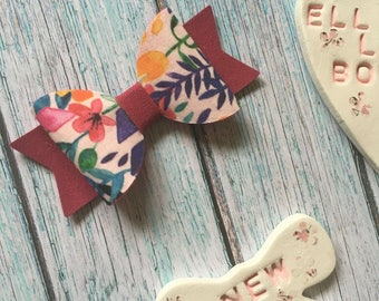 Summer Bloom Hair Bow