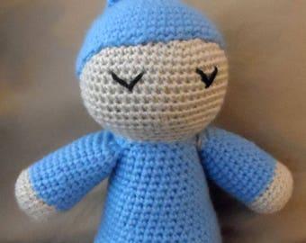 Sleepy head doll - Amigurumi Crochet