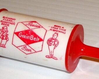 Fishing Bobber Vintage Grain Belt Fishing Bobber and Bottle opener