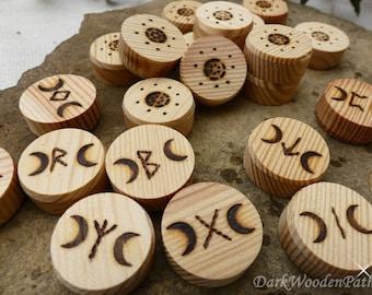 Rune set Moon runes