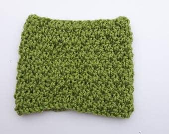 Double Moss Cowl- Single Wrap