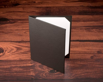 Restaurant Menu Cover. 2 - Page. Premium Vinyl. 12 Pack
