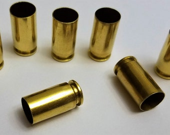 9mm 3000 count Cleaned Tumbled Polished Brass Casings