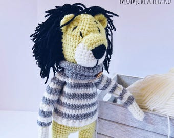LION | Amigurumi toy | Crochet toy